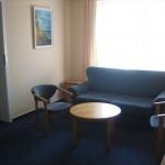 pokój dzienny w apartamencie Willa Słowackiego