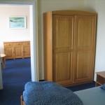 widok z sypialni na pokój dzienny Willa Słowackiego