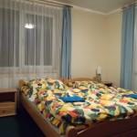 sypialnia w apartamencie Willa Słowackiego